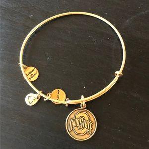 Alex & Ani Ohio State bracelet